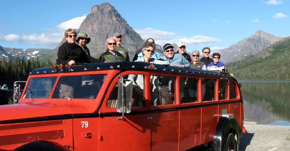 Glacier National Park Tour Adventure Travel - Bus tours usa