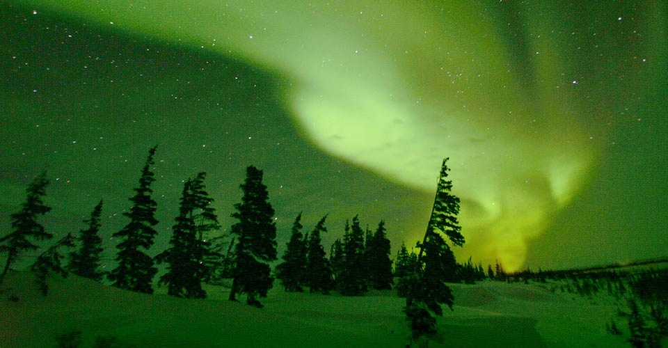 canada northern lights churchill manitoba